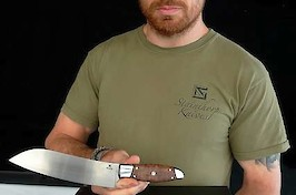 Knives Uk Show winning knife...a Santoku kitchen knife in RWL34